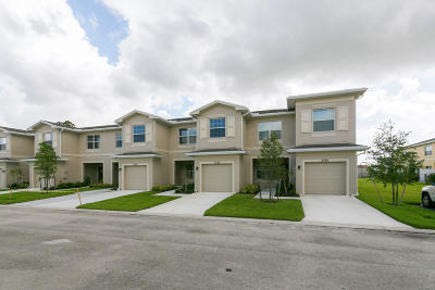 Port Saint Lucie Townhouse For Sale: 2790 NW Treviso Circle