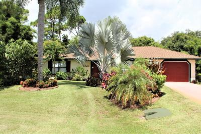 Fort Pierce Single Family Home For Sale: 5501 Killarney Avenue