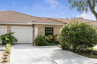 Boca Raton Single Family Home For Sale: 8214 Via Di Veneto