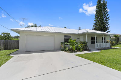 Port Saint Lucie Single Family Home For Sale: 6445 NW Halibut Street