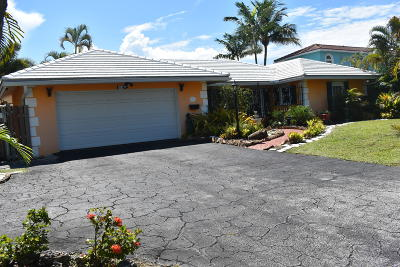 Broward County, Palm Beach County Single Family Home For Sale: 514 SE 12th Avenue