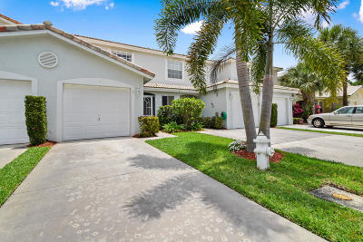 Jupiter Townhouse For Sale: 121 Fox Meadow Road Run