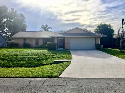 Port Saint Lucie Single Family Home For Sale: 2321 SW Freeman Street