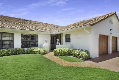 Boynton Beach Single Family Home Contingent: 9747 Pavarotti Terrace #103