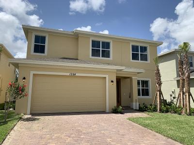 Port Saint Lucie Single Family Home For Sale: 1284 NW Leonardo Circle