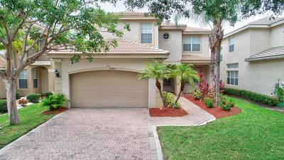 Boynton Beach Single Family Home For Sale: 8539 Woodgrove Harbor Lane