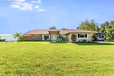 Jupiter Single Family Home For Sale: 15832 111th Terrace