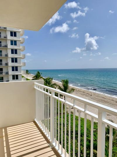 Highland Beach Condo For Sale: 3301 S Ocean Boulevard #410