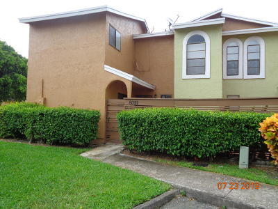 Tamarac Townhouse For Sale: 8081 NW 71st Court