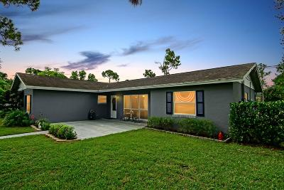 West Palm Beach Single Family Home For Sale: 11224 51st Court