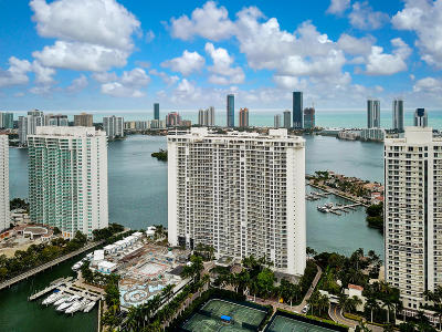 Miami-Dade County Condo For Sale: 7000 Island Boulevard #3001
