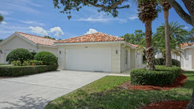 Palm City Single Family Home For Sale: 1752 SW Shady Lake Terrace