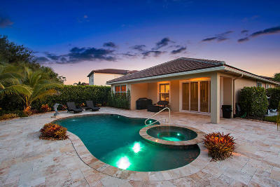 Jupiter Single Family Home For Sale: 143 Rudder Cay Way