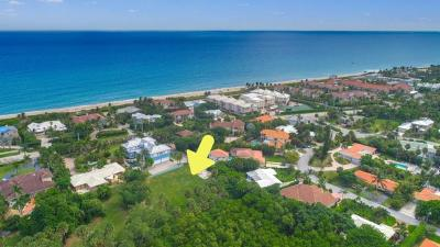 Ocean Ridge Single Family Home For Sale: 1 Thompson Street