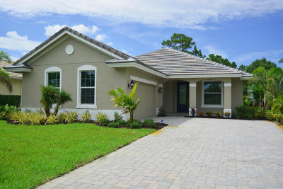 St Lucie County Single Family Home For Sale: 2654 Conifer Drive