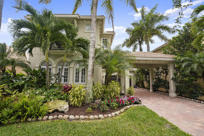 Palm Beach Gardens Single Family Home For Sale: 12488 Aviles Circle