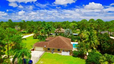 West Palm Beach Single Family Home Contingent: 13716 72nd Court