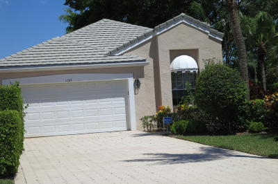 Boynton Beach Single Family Home For Sale: 11789 Fountainside Circle