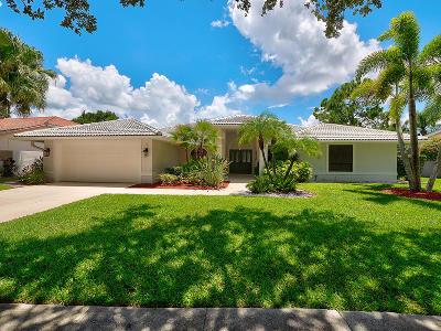 Jupiter Single Family Home For Sale: 6672 Winding Lake Drive