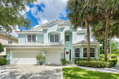 Jupiter Single Family Home For Sale: 423 Meadowlark Drive