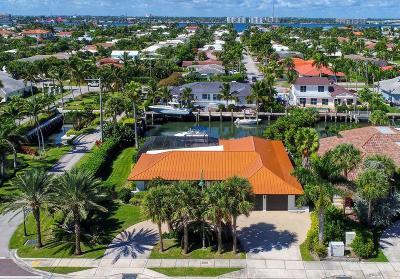 Singer Island Single Family Home For Sale: 3901 Ocean Drive