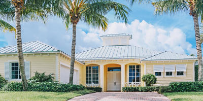 Tequesta Single Family Home For Sale: 4 Tradewinds Circle