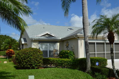Port Saint Lucie Single Family Home For Sale: 4319 SE Brittney Circle
