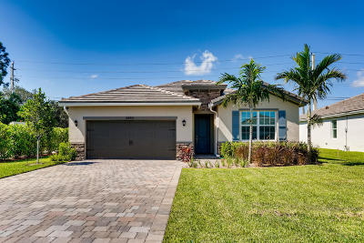 Palm City Single Family Home For Sale: 3490 SW Blackberry Lane