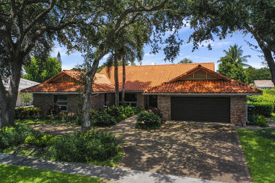 Boca Raton Single Family Home For Sale: 2871 Banyan Boulevard Circle NW