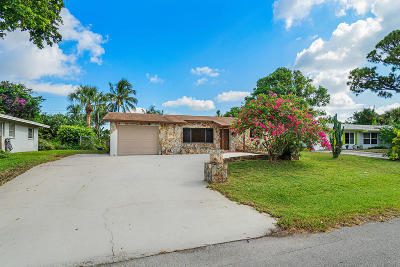 Palm Beach Gardens Single Family Home For Sale: 3867 Buttercup Circle