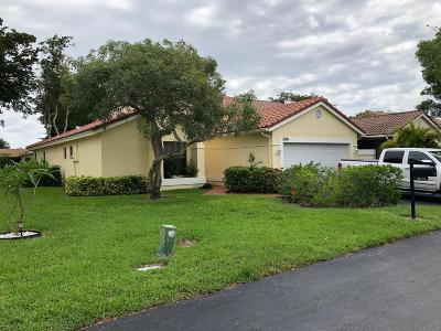 Boca Raton Single Family Home For Sale: 10751 Ladypalm Lane #A