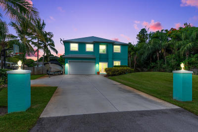 Stuart Single Family Home For Sale: 4210 SE Robert Loop Road