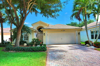 Boynton Beach Single Family Home Contingent: 11700 Castellon Court #11700