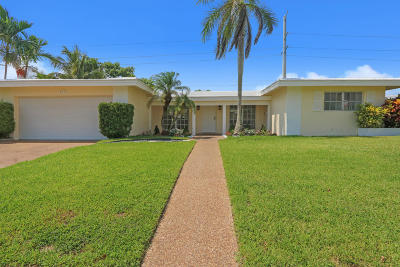Boca Raton Single Family Home For Sale: 840 SW 7th Street