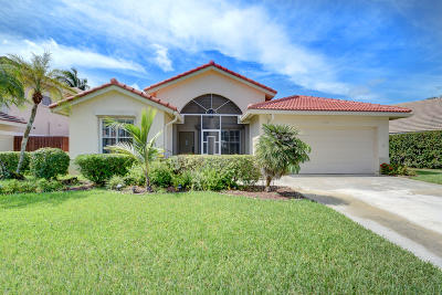 Boynton Beach Single Family Home Contingent: 5172 Rosen Boulevard