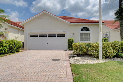Lake Worth, Lakeworth Single Family Home Contingent: 6179 Bear Creek Court