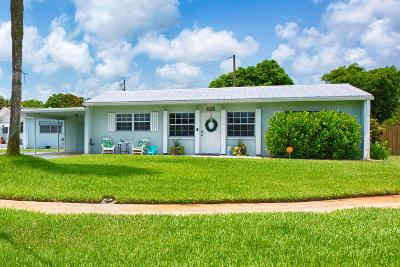 Palm Beach Gardens Single Family Home For Sale: 9519 Bloomfield Drive