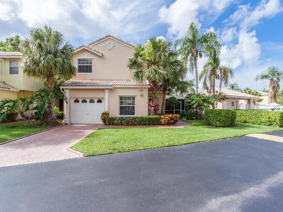 Boca Pointe Single Family Home For Sale: 7394 Panache Way