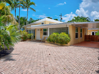 West Palm Beach Single Family Home For Sale: 310 Maddock Street
