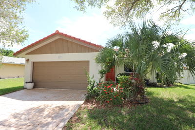 Coral Springs Single Family Home Contingent: 2569 NW 123rd Avenue