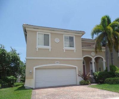 Boynton Beach Single Family Home For Sale: 7998 Tangelo Drive
