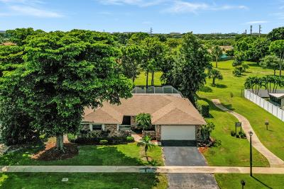 Boca Raton Single Family Home For Sale: 4790 Fox Hunt Trail