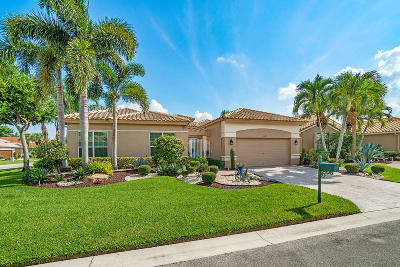 Boynton Beach Single Family Home For Sale: 6657 Maggiore Drive