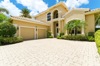 Palm Beach Gardens Single Family Home For Sale: 1121 Grand Cay Drive