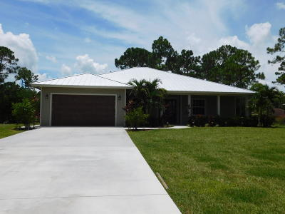 West Palm Beach Single Family Home For Sale: 13808 83rd Lane