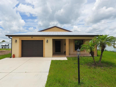 Fort Pierce Single Family Home For Sale: 82 Lagos Del Norte