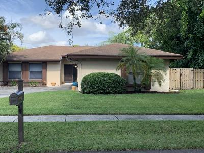 Boca Raton Single Family Home For Sale: 3009 NW 27th Terrace