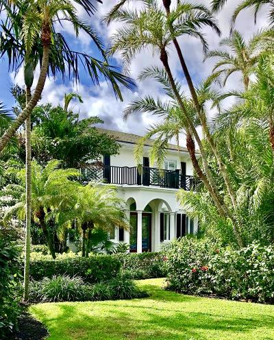 Broward County, Palm Beach County Single Family Home For Sale: 1036 Bucida Road