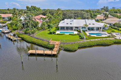 Jupiter Single Family Home For Sale: 301 Regatta Drive