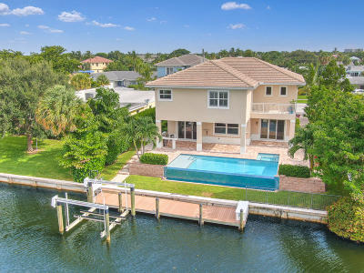 North Palm Beach Single Family Home For Sale: 624 Inlet Road